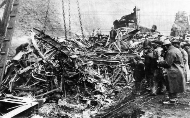 Accidente tren Saint Michel de Maurienne (1917)
