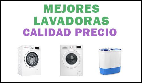 mejor lavadora calidad precio