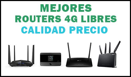 mejor router 4g libre