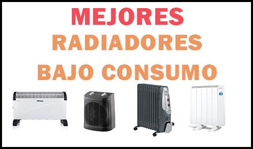 mejores radiadores bajo consumo eléctricos